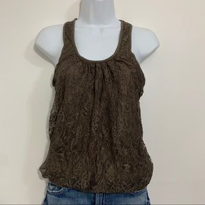 Lace tank top by Express is like new. Size xsmall